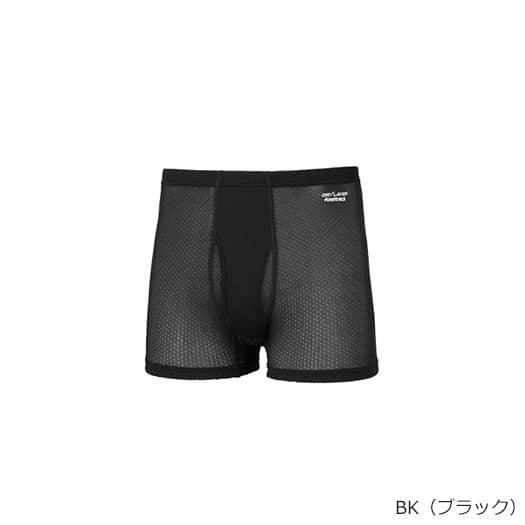 finetrack(ファイントラック) スキンメッシュボクサー Men's ブラック FUM0414