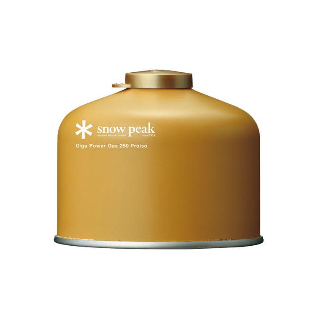 SnowPeak(スノーピーク) ギガパワーガス250プロイソ GP-250GR