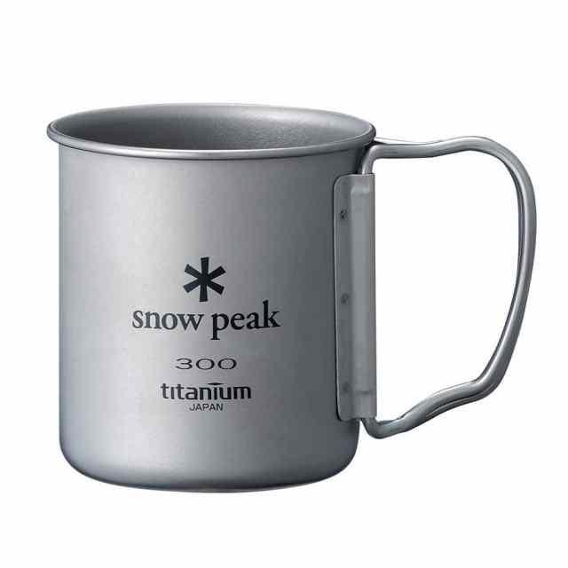 SnowPeak(スノーピーク) チタンシングルマグ300 フォールディングハンドル MG-042FHR
