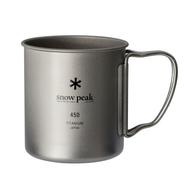 SnowPeak(スノーピーク) チタンシングルマグ450 MG-143