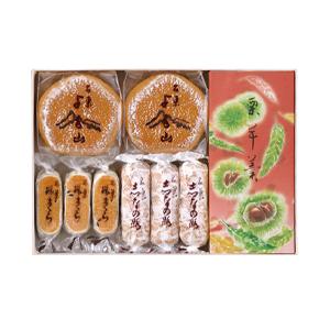 栗羊羹・焼菓子詰合(半棹3入箱)