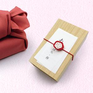 結からの贈り物 F (あまのはら 春 半棹 風呂敷包) (和菓子 結)