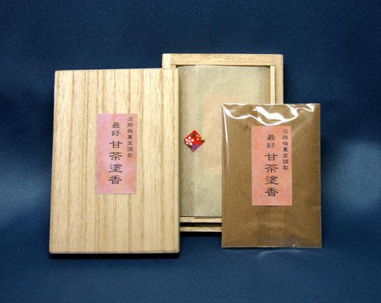 甘茶塗香桐箱(15g)