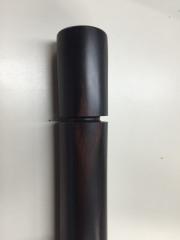 黒檀ネジ式線香筒200mmサイズ