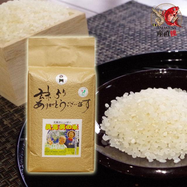 完全無農薬米 ましおのお米2kg 送料無料