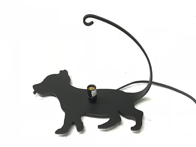 吊りランプベース イヌ