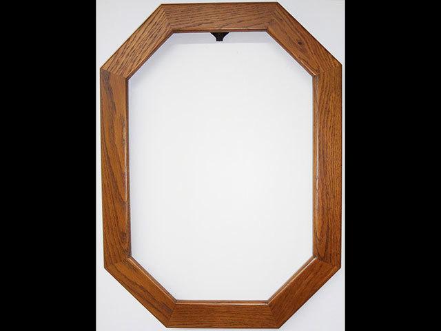 オークフレーム 長八角形 Sサイズ