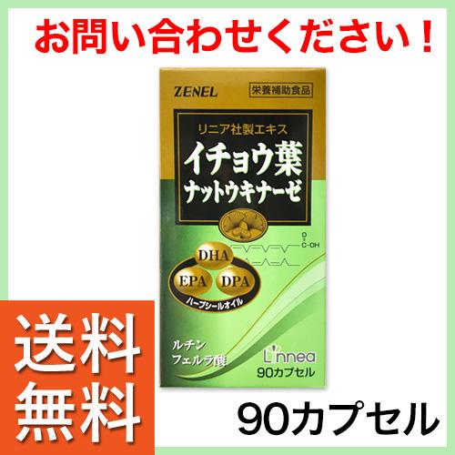 イチョウ葉ナットウキナーゼ 90粒 (価格・購入方法はお問い合わせ下さい)