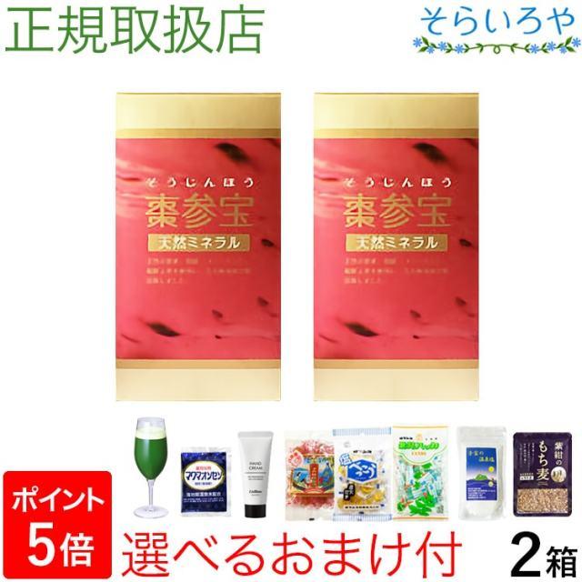 棗参宝 そうじんほう 100粒×2箱 棗(なつめ)の鉄分+阿膠(コラーゲン) 徳潤