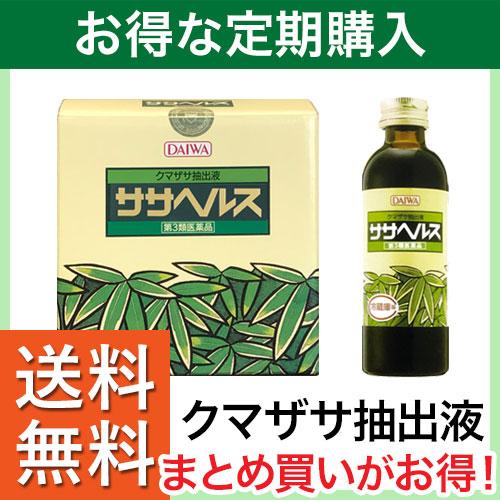 【定期購入】ササヘルス 127ml クマ笹抽出液 【第3類医薬品】