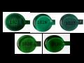 モレッティロッド透明ダークグリーン系(単位:100g)