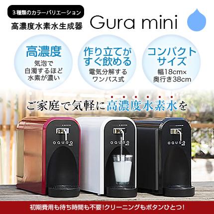 【送料無料】水素水生成器 ガウラミニ 水素水 卓上 高濃度水素水サーバー GAURAmini