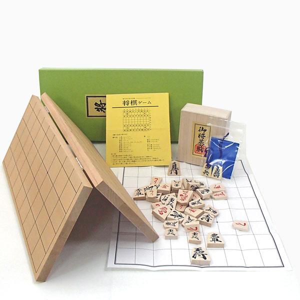 囲碁ラボオリジナルP製根付け2個付新桂5号折将棋盤と優良押