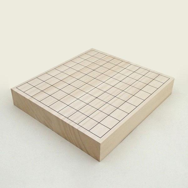 ヒバ2寸卓上接合将棋盤松