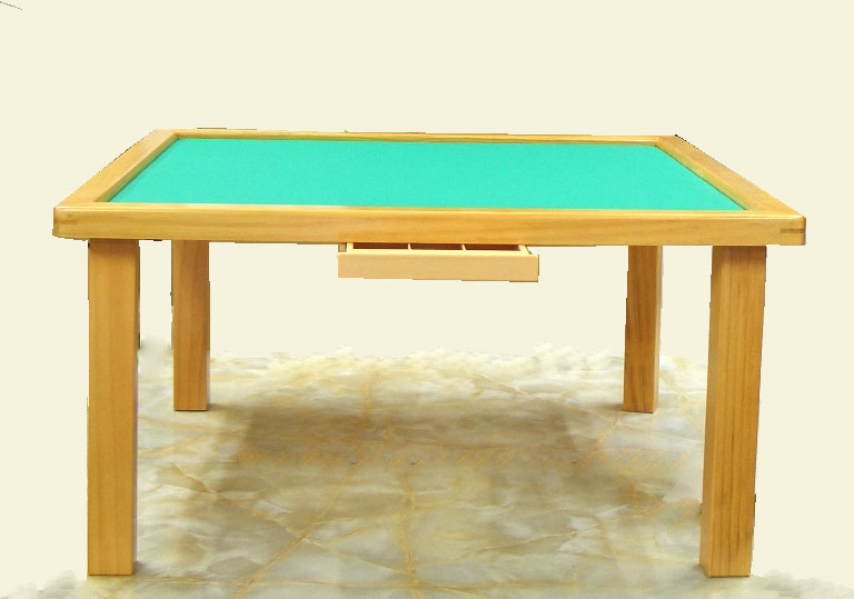 麻雀卓 折りたたみ式座卓麻雀卓 引出し付き
