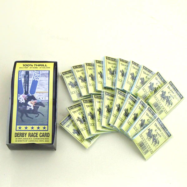 競馬カード ダービーレースカードボックス