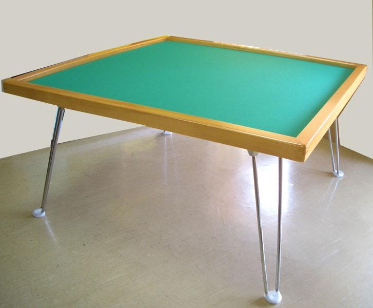 麻雀卓 折りたたみ式座卓麻雀卓 引出しなし