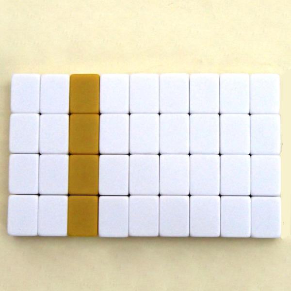 麻雀用品 麻雀牌パイパン(36個セット)