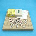 将棋セット 新桂1寸卓上接合将棋盤と木製特選将棋駒