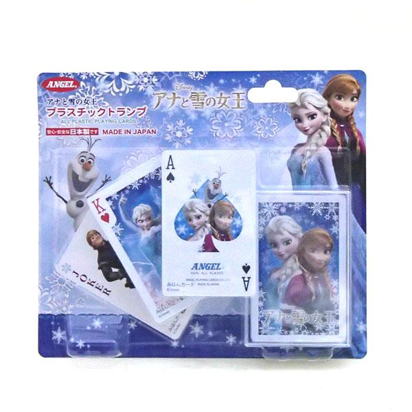 プラスチックトランプ アナと雪の女王