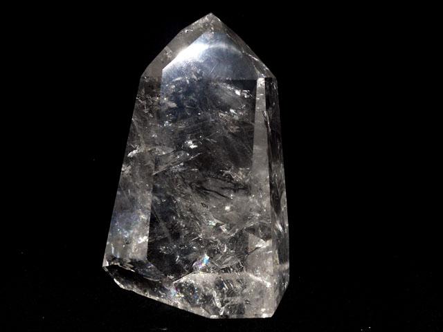 【半額SALE】水晶ポイント 2.68kg サイズ(約):縦20×横13×奥行8cm