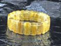 ゴールドルチル バングルブレスレット 約21cm