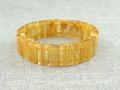 ゴールドルチル バングルブレスレット 約22cm