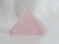 ローズクオーツのピラミッド  【pyramid028】