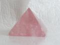 ローズクオーツのピラミッド  【pyramid030】