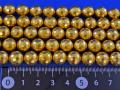 水晶に14金メッキ加工108面カット 10ミリ