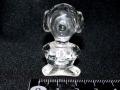 水晶鼻の長い犬彫刻 約23グラム