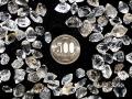 ハーキマーダイヤモンド原石(小) 約0.5〜2グラム×3粒のセット
