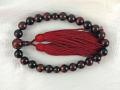 片手念珠 赤虎目石(レッドタイガーアイ) 12ミリ玉