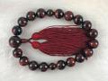 片手念珠 赤虎目石(レッドタイガーアイ) 16ミリ玉