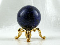 ラピスラズリ丸玉(台付) 28ミリ