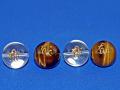 梵字彫刻ビーズ ねずみ年生まれ 16ミリ