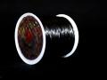 オペロンゴム ブラック  約0.8ミリ×80メートル巻