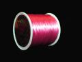 オペロンゴム ピンク  約0.8ミリ×80メートル巻