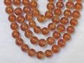 オレンジガーネット 8ミリ 【bz-orangegarnet-8】【定型外可】