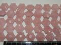 ローズクオーツ(紅水晶) 六角形 18ミリ×10ミリ