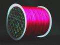 オペロンゴム 蛍光ピンク  約0.8ミリ×70メートル巻