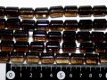 スモーキークオーツ(茶水晶) 円柱型(大) 約14ミリ×10ミリ