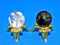 四神彫刻ビーズ 朱雀(鳥) 16ミリ 【メール便可】
