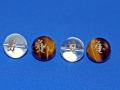 梵字彫刻ビーズ たつ・へび年生まれ 16ミリ