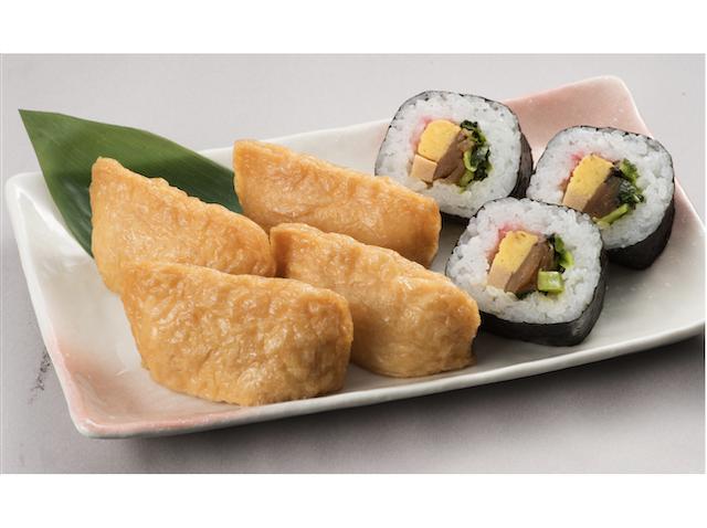 助六寿司(いなり寿司4個・巻き寿司3貫)
