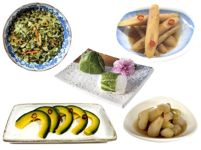 九州の漬物味めぐり 5種セット