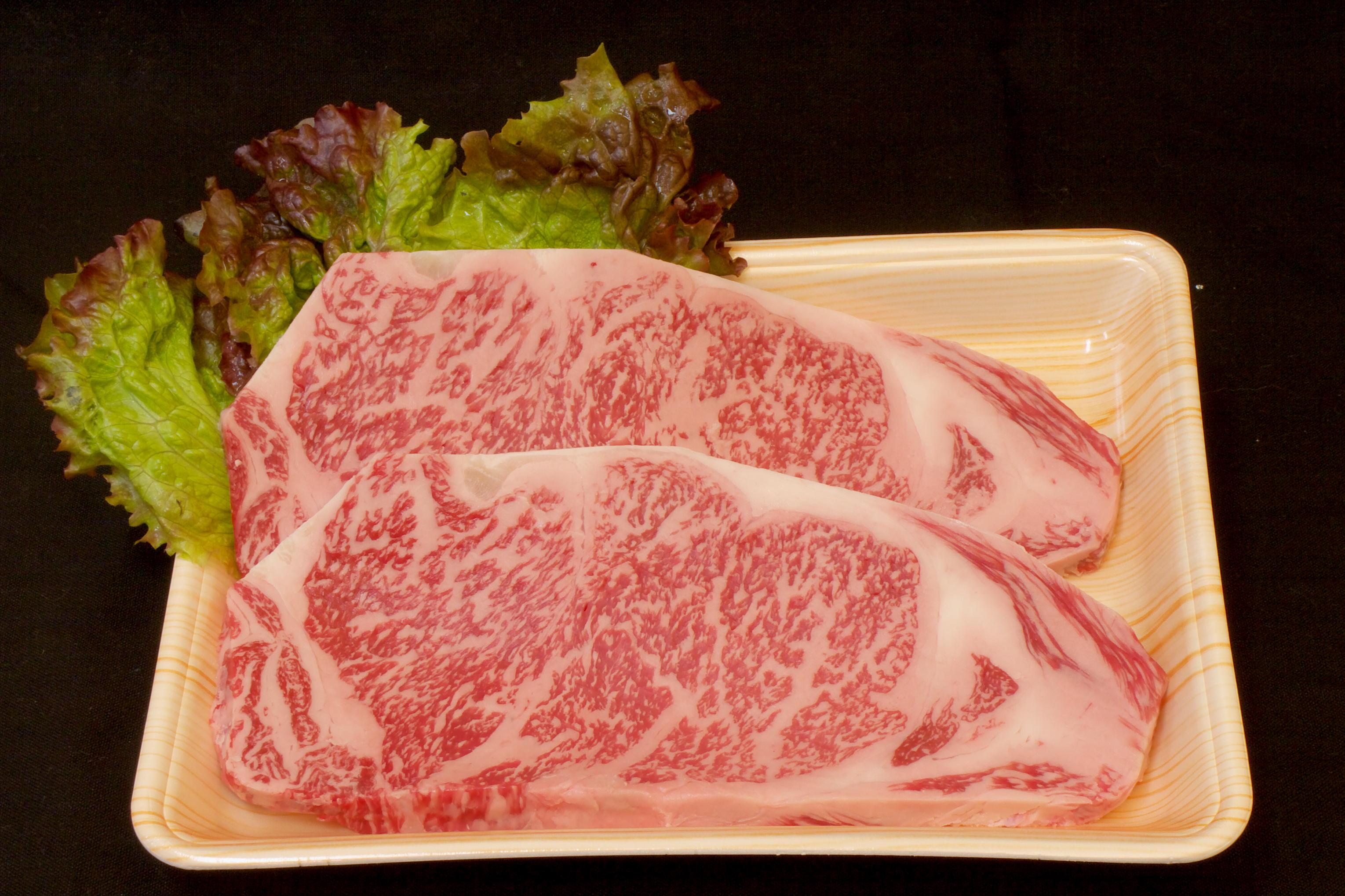 壱岐牛サーロインステーキA4(200gステーキカット2枚)