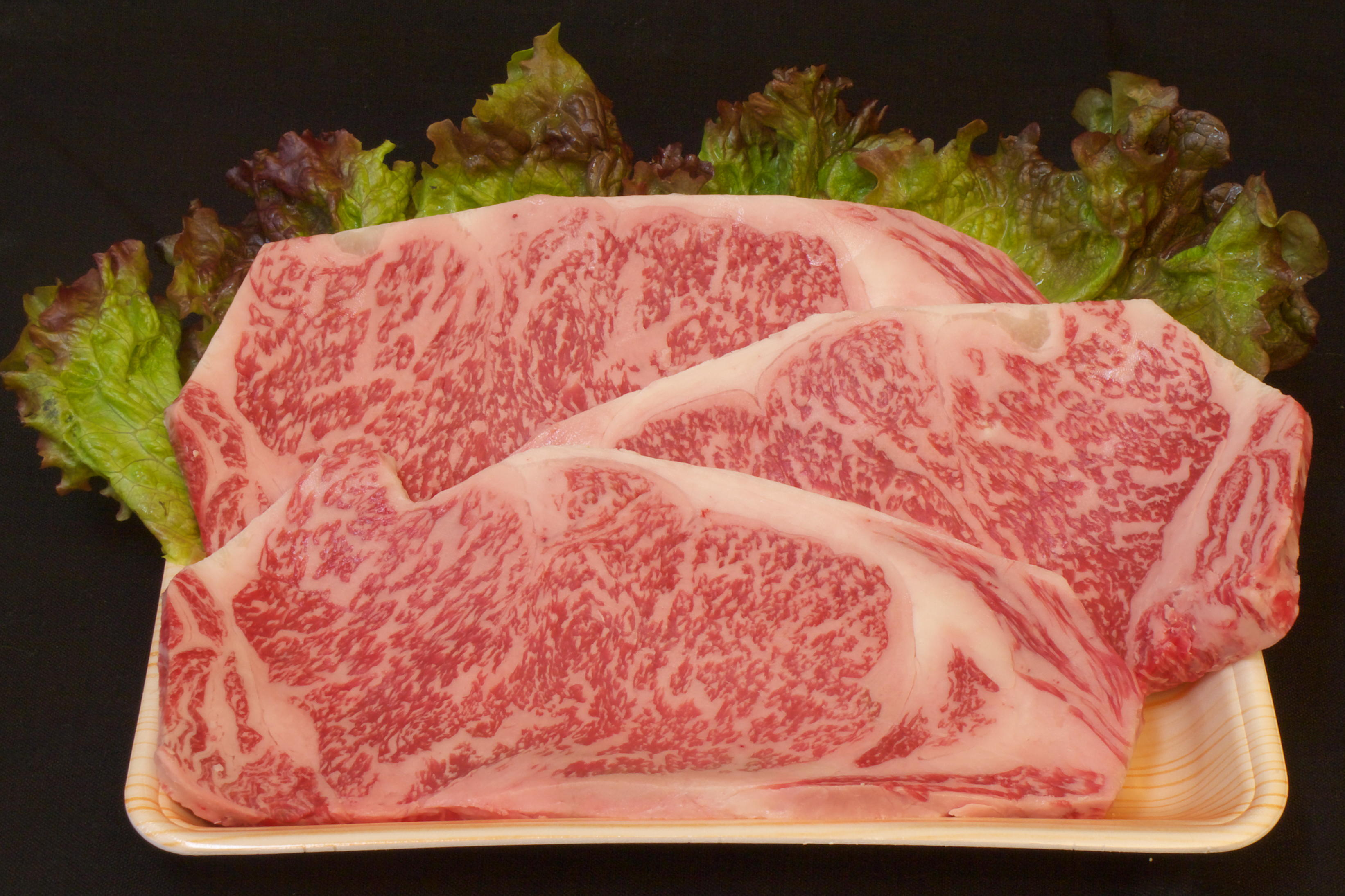 壱岐牛サーロインステーキA4(200gステーキカット3枚)