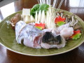 壱岐島産養殖 とらふぐ てっちり3人盛