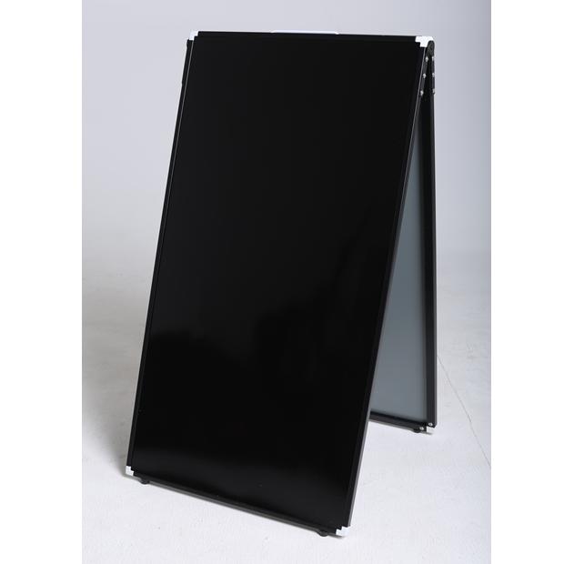 CPW-459 シティーパンダ450X900mm 両面 ブラックorホワイト/光沢板面/飲食店・サロン/屋内・屋外